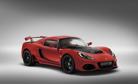 2020 Lotus Exige Sport 410 20th Anniversary (Color: Calypso Red) Front Three-Quarter Wallpapers 450x275 (4)
