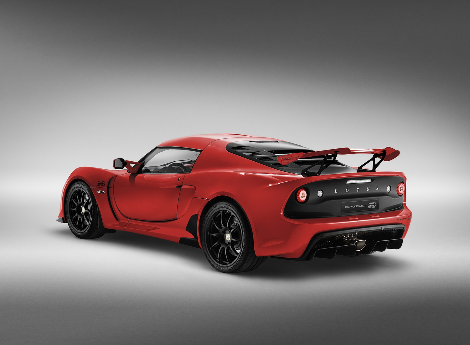 2020 Lotus Exige Sport 410 20th Anniversary (Color: Calypso Red) Rear Three-Quarter Wallpapers (5)