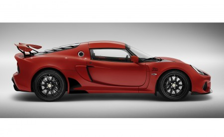 2020 Lotus Exige Sport 410 20th Anniversary (Color: Calypso Red) Side Wallpapers 450x275 (6)