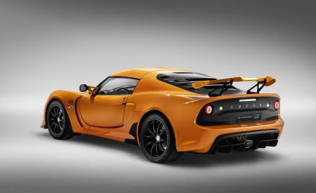 2020 Lotus Exige Sport 410 20th Anniversary (Color: Chrome Orange) Rear Three-Quarter Wallpapers 450x275 (9)
