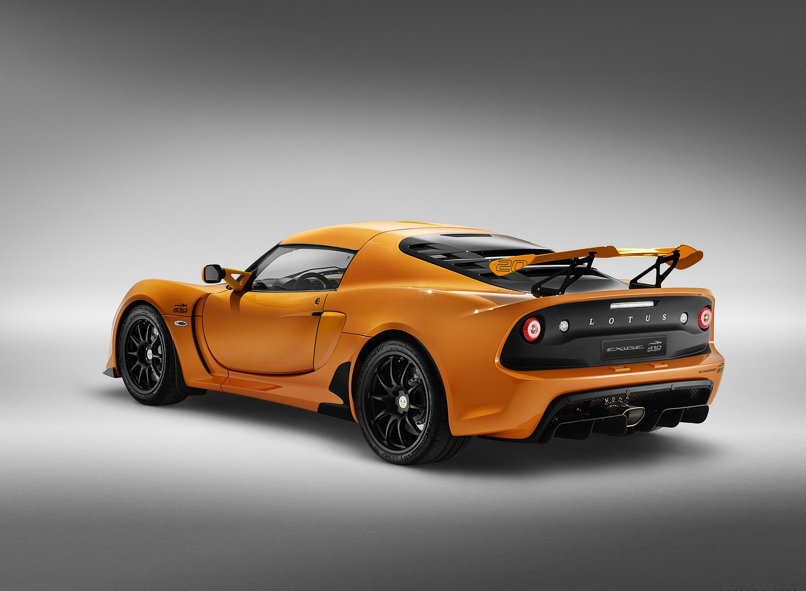 2020 Lotus Exige Sport 410 20th Anniversary (Color: Chrome Orange) Rear Three-Quarter Wallpapers (9)