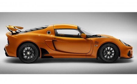 2020 Lotus Exige Sport 410 20th Anniversary (Color: Chrome Orange) Side Wallpapers 450x275 (10)