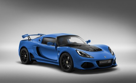 2020 Lotus Exige Sport 410 20th Anniversary (Color: Laser Blue) Front Three-Quarter Wallpapers 450x275 (12)