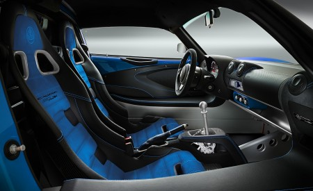 2020 Lotus Exige Sport 410 20th Anniversary (Color: Laser Blue) Interior Wallpapers 450x275 (15)