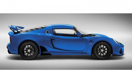 2020 Lotus Exige Sport 410 20th Anniversary (Color: Laser Blue) Side Wallpapers 450x275 (14)