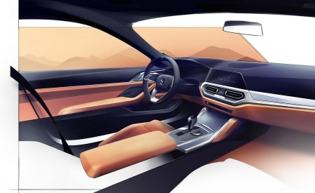 2021 BMW 4 Series Coupe Design Sketch Wallpapers 450x275 (82)