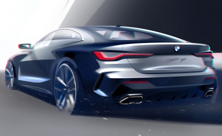 2021 BMW 4 Series Coupe Design Sketch Wallpapers 450x275 (61)