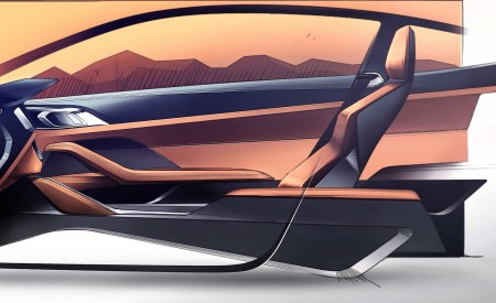 2021 BMW 4 Series Coupe Design Sketch Wallpapers 450x275 (80)