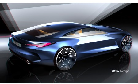 2021 BMW 4 Series Coupe Design Sketch Wallpapers 450x275 (63)