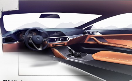 2021 BMW 4 Series Coupe Design Sketch Wallpapers 450x275 (71)