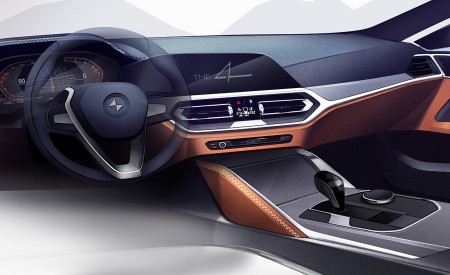 2021 BMW 4 Series Coupe Design Sketch Wallpapers 450x275 (79)