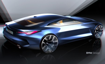 2021 BMW 4 Series Coupe Design Sketch Wallpapers 450x275 (64)