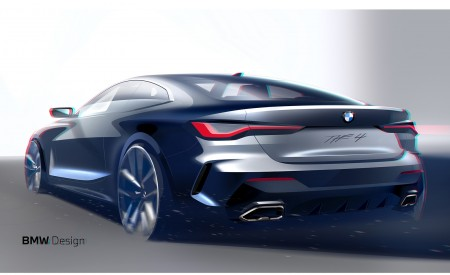 2021 BMW 4 Series Coupe Design Sketch Wallpapers 450x275 (65)