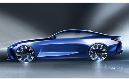 2021 BMW 4 Series Coupe Design Sketch Wallpapers 450x275 (66)