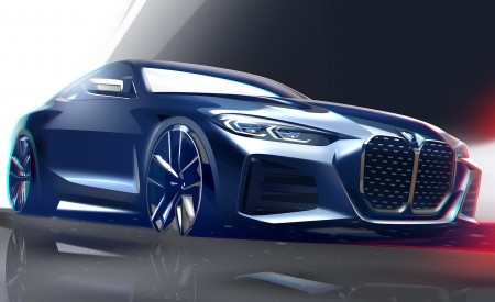 2021 BMW 4 Series Coupe Design Sketch Wallpapers 450x275 (67)