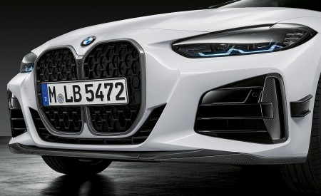 2021 BMW 4 Series Coupe M Performance Parts Front Bumper Wallpapers 450x275 (57)