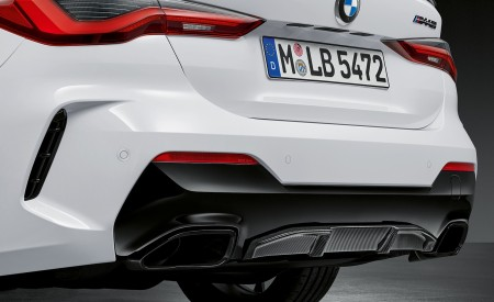 2021 BMW 4 Series Coupe M Performance Parts Rear Bumper Wallpapers 450x275 (55)