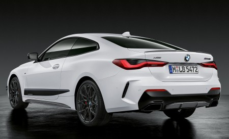 2021 BMW 4 Series Coupe M Performance Parts Rear Three-Quarter Wallpapers 450x275 (51)