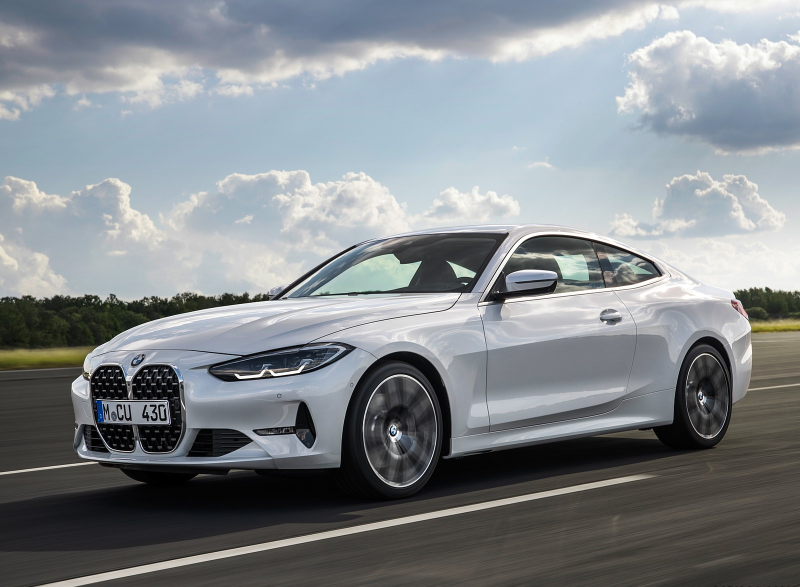 2021 BMW 430i Coupe Front Three-Quarter Wallpapers (5)