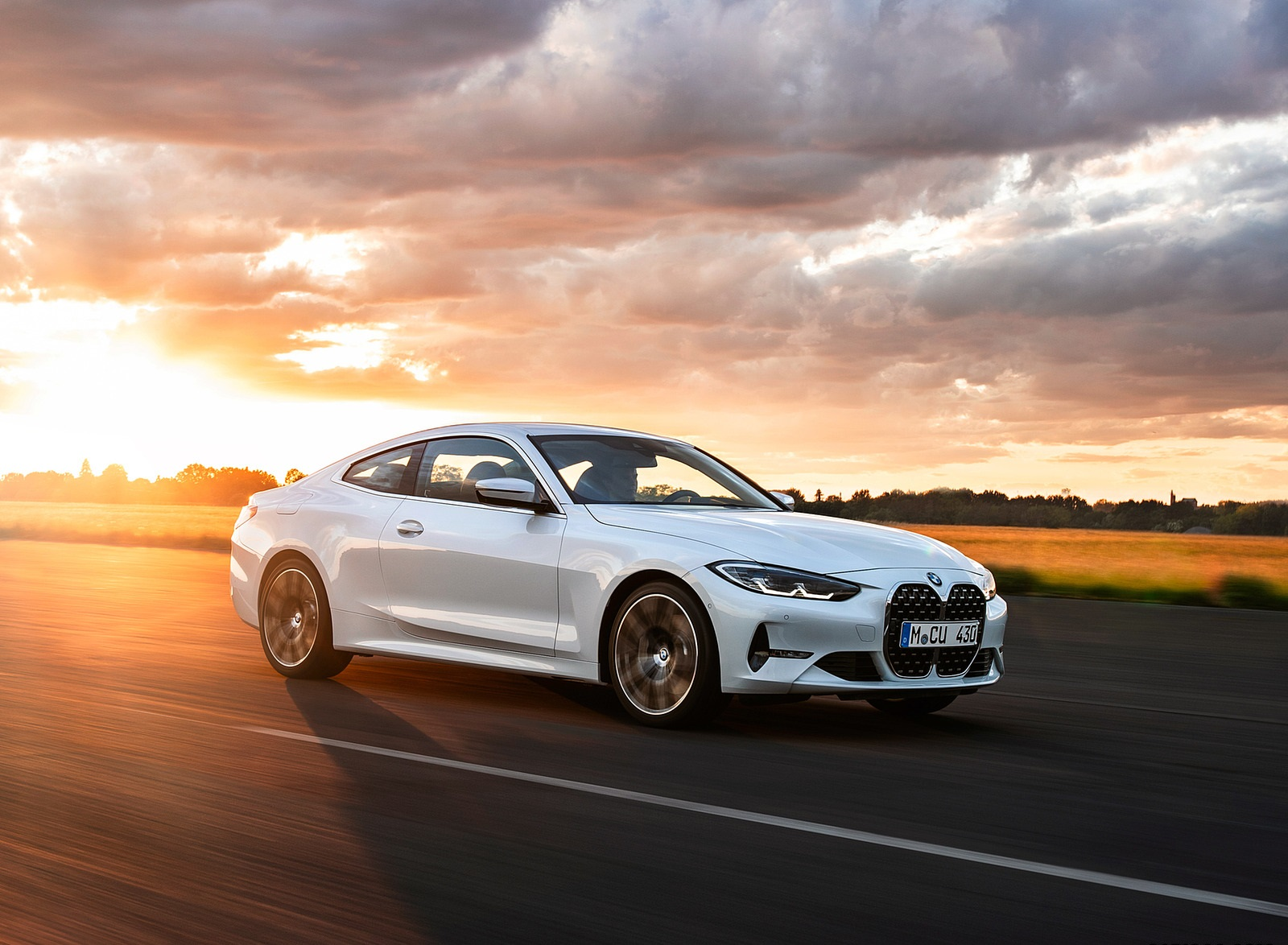 2021 BMW 430i Coupe Front Three-Quarter Wallpapers (1)