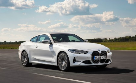 2021 BMW 430i Coupe Front Three-Quarter Wallpapers 450x275 (4)