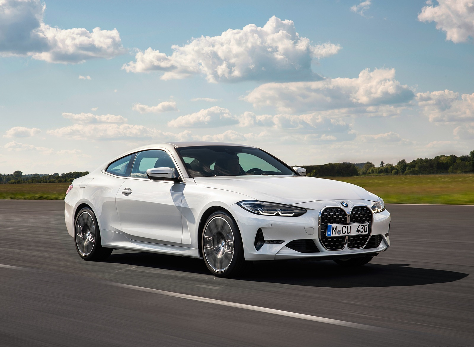 2021 BMW 430i Coupe Front Three-Quarter Wallpapers (4)