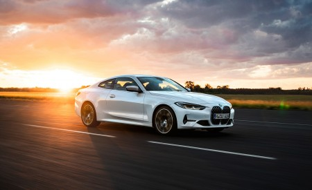 2021 BMW 430i Coupe Front Three-Quarter Wallpapers 450x275 (2)