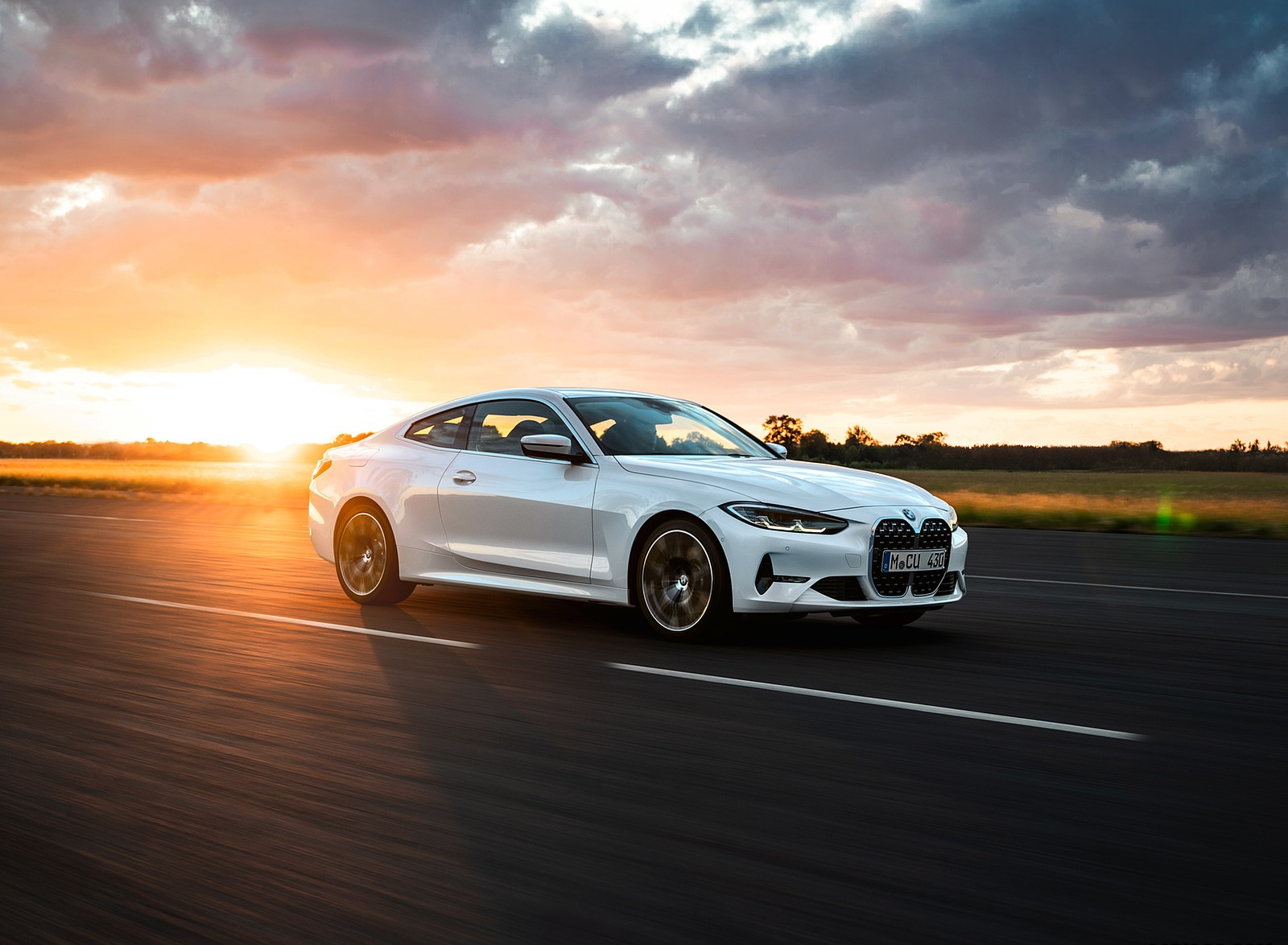 2021 BMW 430i Coupe Front Three-Quarter Wallpapers (2)