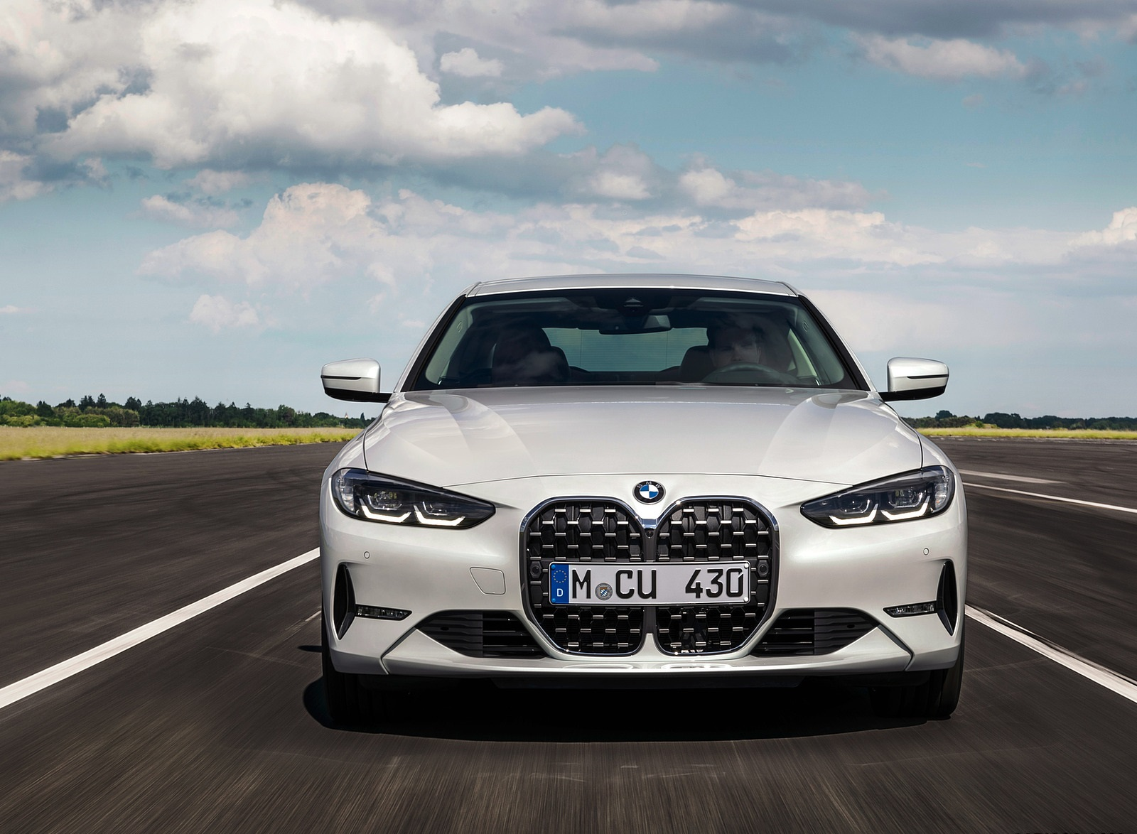 2021 BMW 430i Coupe Front Wallpapers (6)