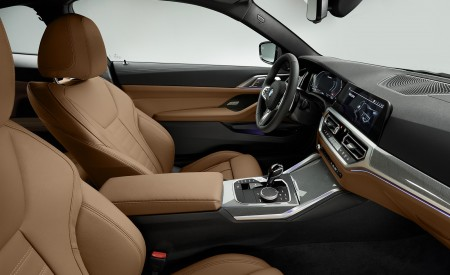 2021 BMW 430i Coupe Interior Detail Wallpapers 450x275 (28)
