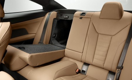 2021 BMW 430i Coupe Interior Rear Seats Wallpapers 450x275 (30)