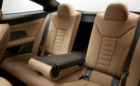 2021 BMW 430i Coupe Interior Rear Seats Wallpapers 450x275 (31)