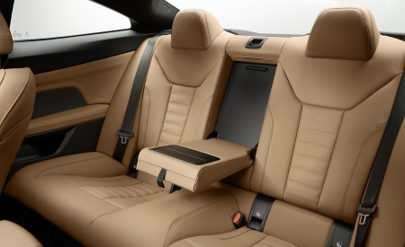 2021 BMW 430i Coupe Interior Rear Seats Wallpapers 450x275 (32)