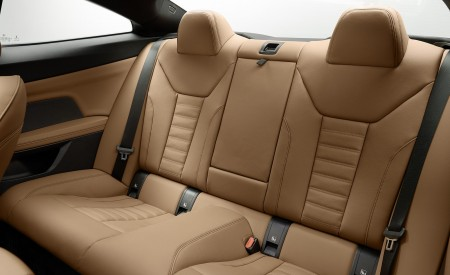 2021 BMW 430i Coupe Interior Rear Seats Wallpapers 450x275 (33)