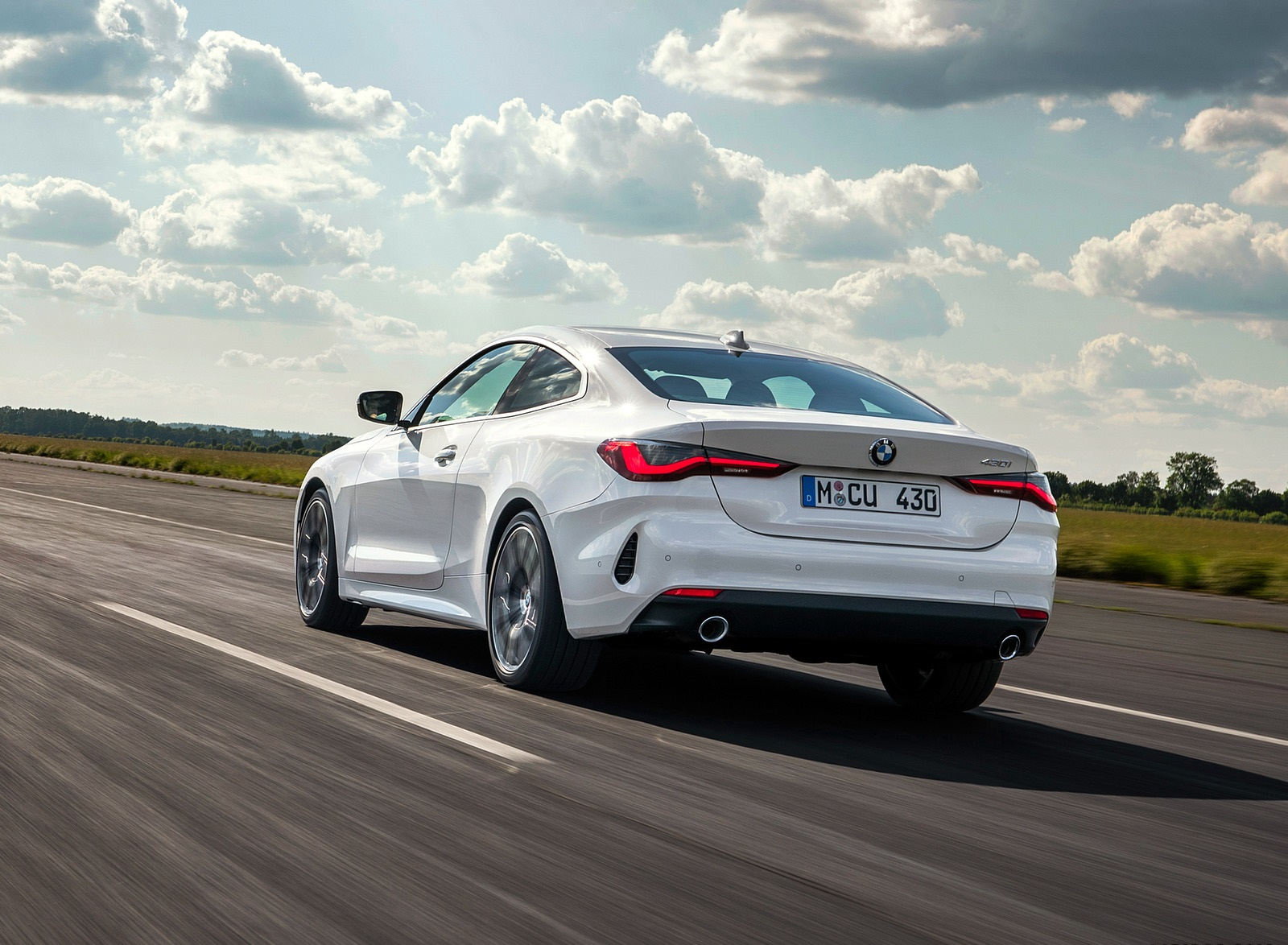 2021 BMW 430i Coupe Rear Three-Quarter Wallpapers (7)