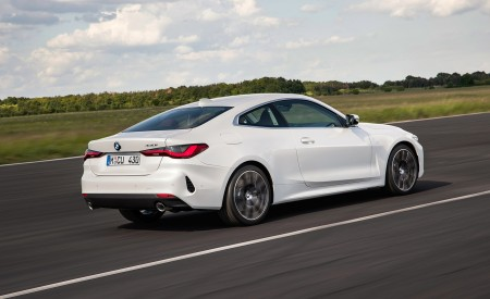 2021 BMW 430i Coupe Rear Three-Quarter Wallpapers 450x275 (8)