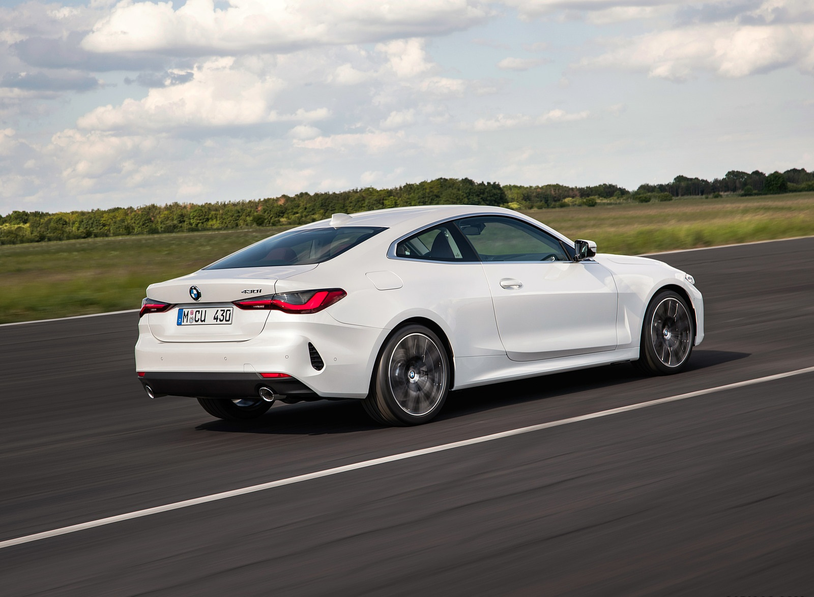 2021 BMW 430i Coupe Rear Three-Quarter Wallpapers (8)