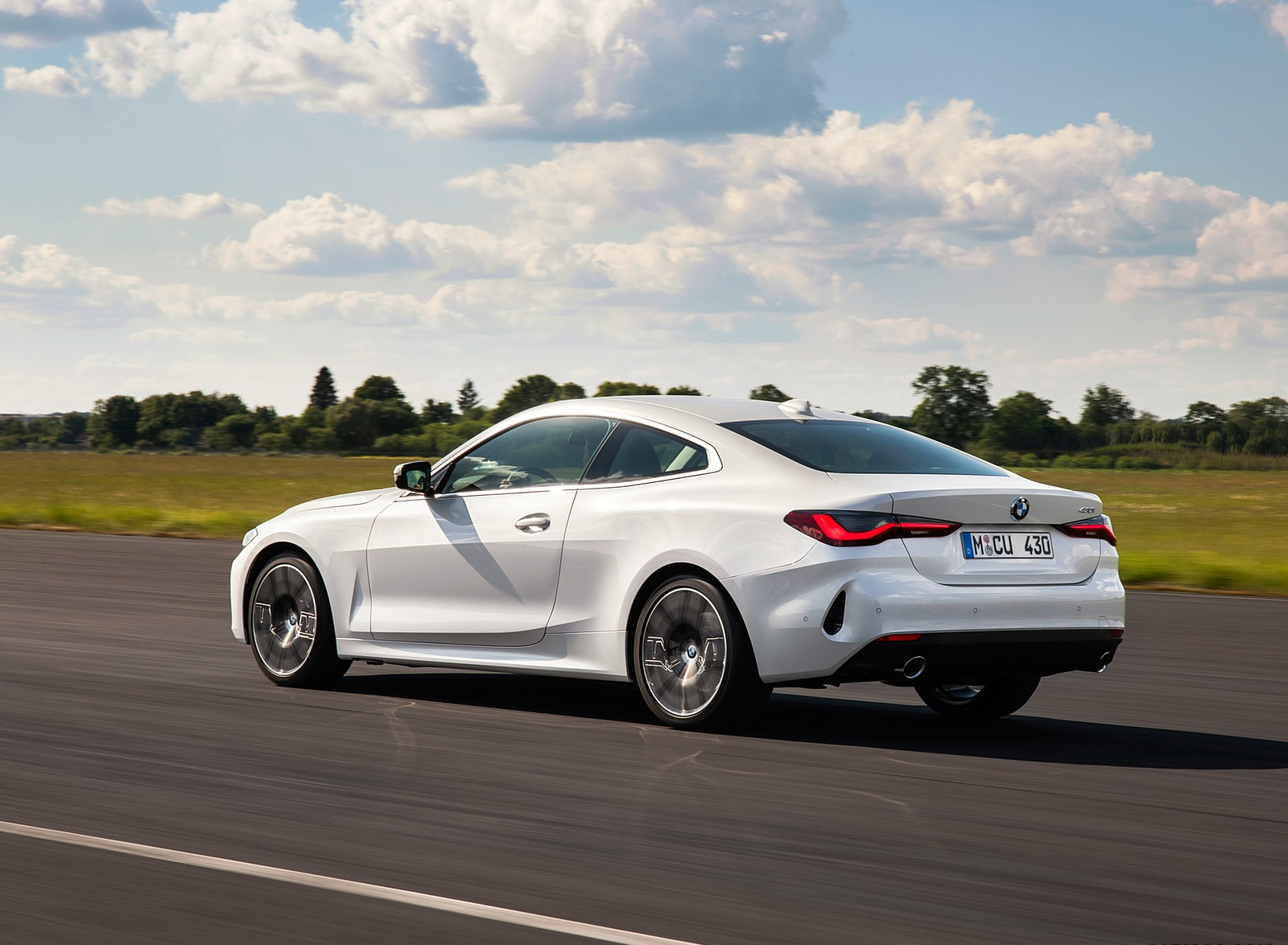 2021 BMW 430i Coupe Rear Three-Quarter Wallpapers (9)