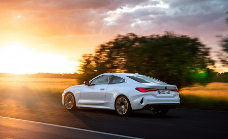 2021 BMW 430i Coupe Rear Three-Quarter Wallpapers 450x275 (3)