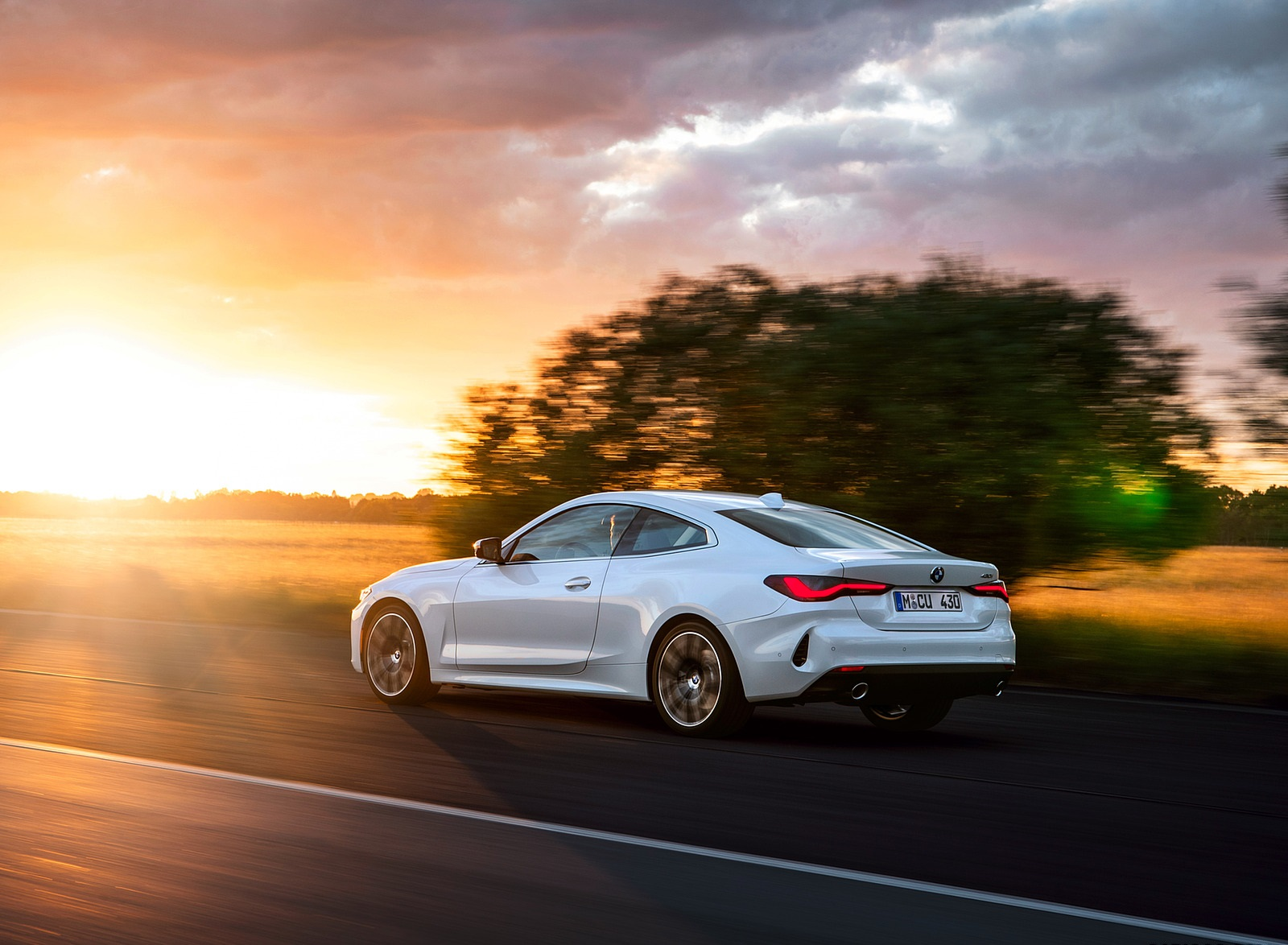 2021 BMW 430i Coupe Rear Three-Quarter Wallpapers (3)