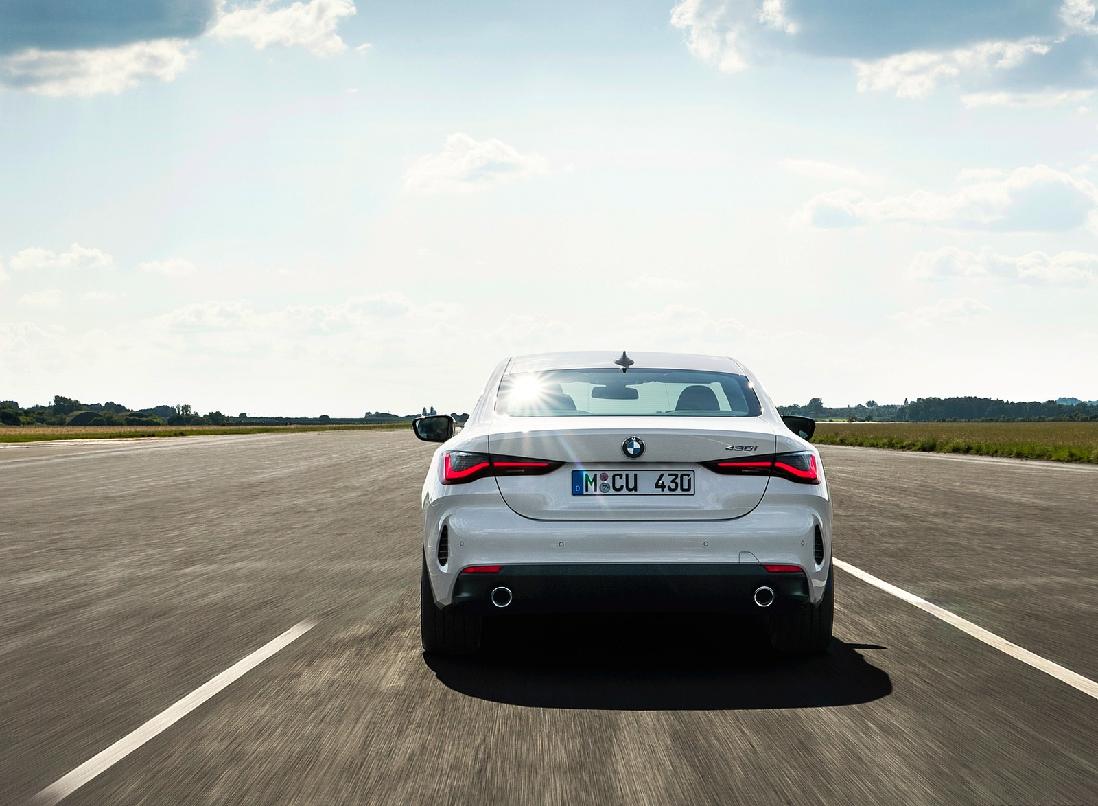 2021 BMW 430i Coupe Rear Wallpapers (10)