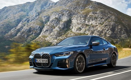 2021 BMW M440i xDrive Coupe Front Three-Quarter Wallpapers 450x275 (13)