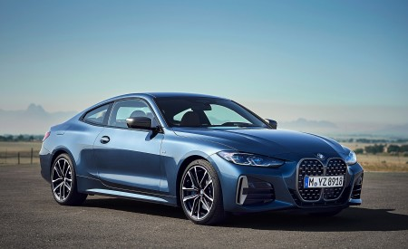 2021 BMW M440i xDrive Coupe Front Three-Quarter Wallpapers 450x275 (50)