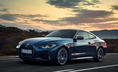 2021 BMW M440i xDrive Coupe Front Three-Quarter Wallpapers 450x275 (26)
