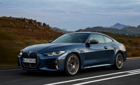 2021 BMW M440i xDrive Coupe Front Three-Quarter Wallpapers 450x275 (27)
