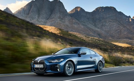 2021 BMW M440i xDrive Coupe Front Three-Quarter Wallpapers 450x275 (28)