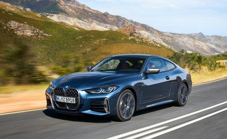 2021 BMW M440i xDrive Coupe Front Three-Quarter Wallpapers 450x275 (4)