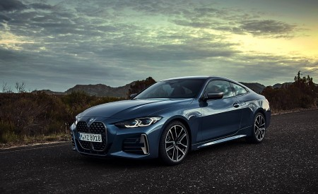 2021 BMW M440i xDrive Coupe Front Three-Quarter Wallpapers 450x275 (30)