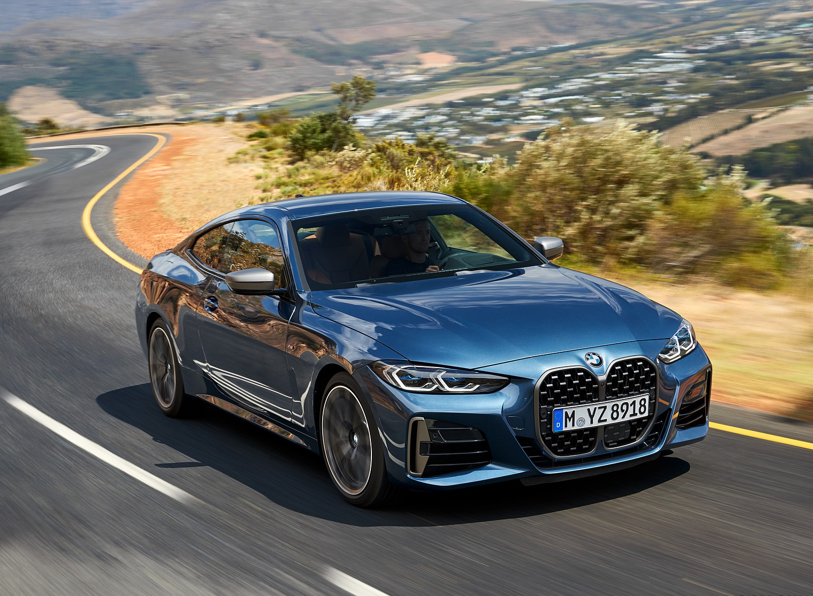 2021 BMW M440i xDrive Coupe Front Three-Quarter Wallpapers (7)