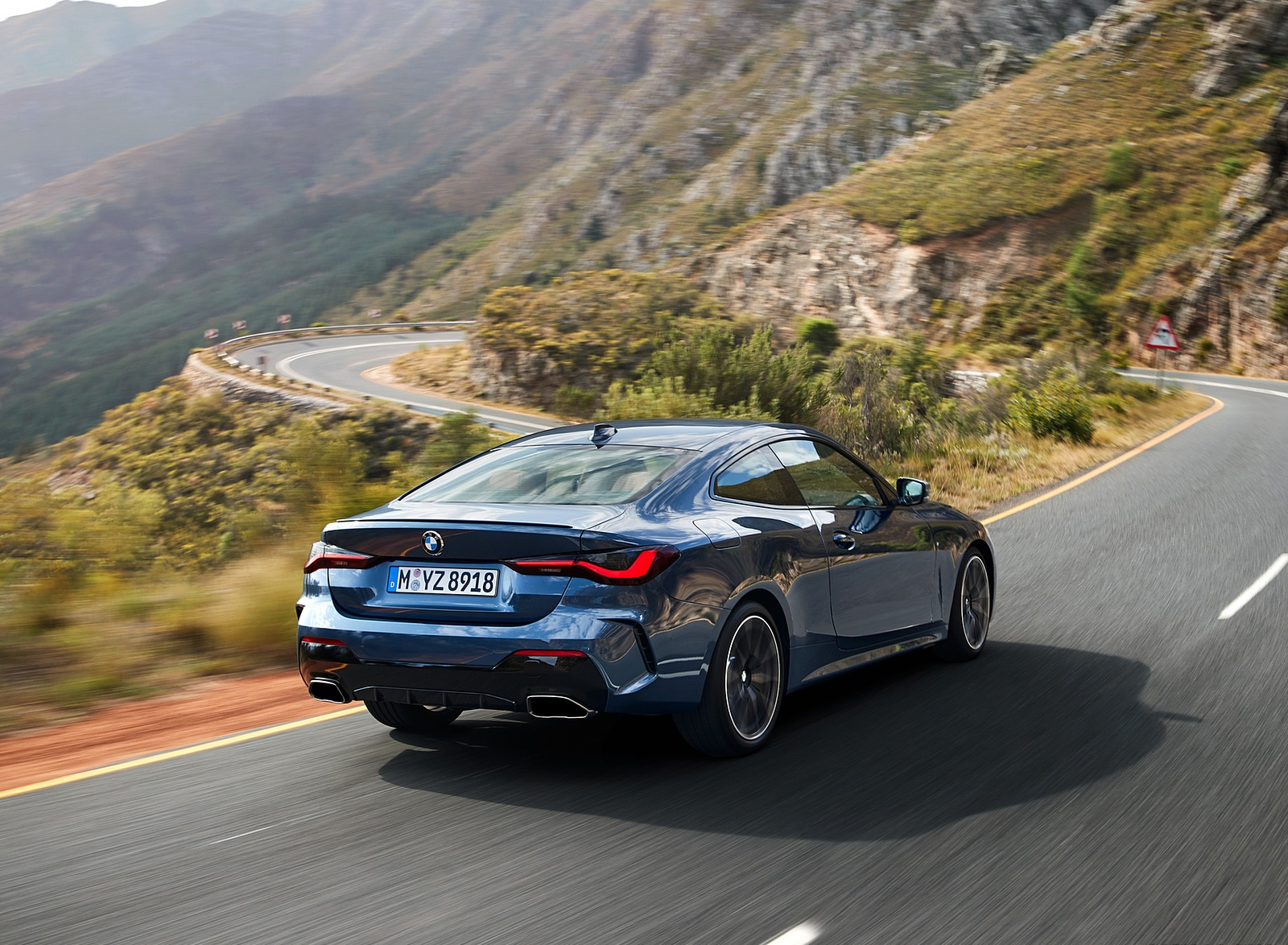 2021 BMW M440i xDrive Coupe Rear Three-Quarter Wallpapers (10)